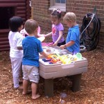 Preschool sand and water play st. Andrew