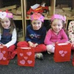 Valentine's Day goodie bags and extra fun